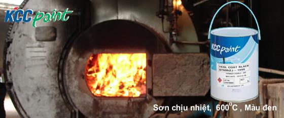 www.123nhanh.com: Sơn chịu nhiệt kcc 600ºC-đen là gì?