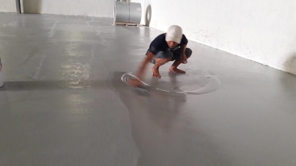 Thi công sơn epoxy tại bình dương