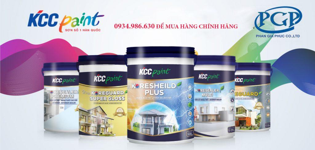 Phan Gia Phúc cung cấp sơn nước kcc giá rẻ