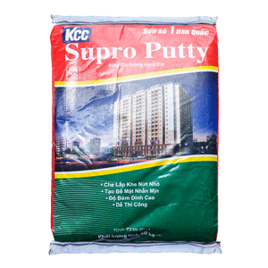 Bột Trét Ngoại Thất KCC Supro Putty