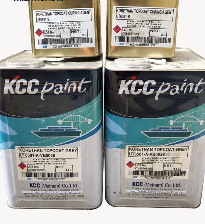 Sơn Phủ epoxy kcc ut6581